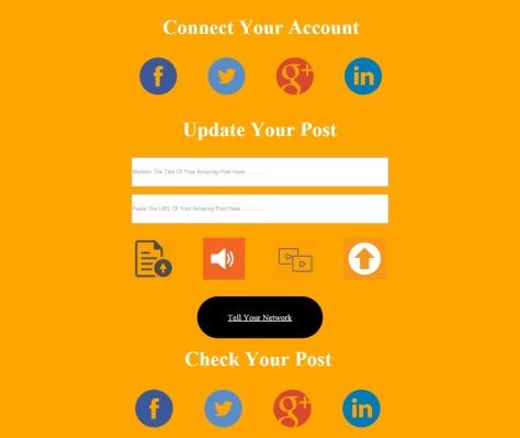 Social Sharing Design
